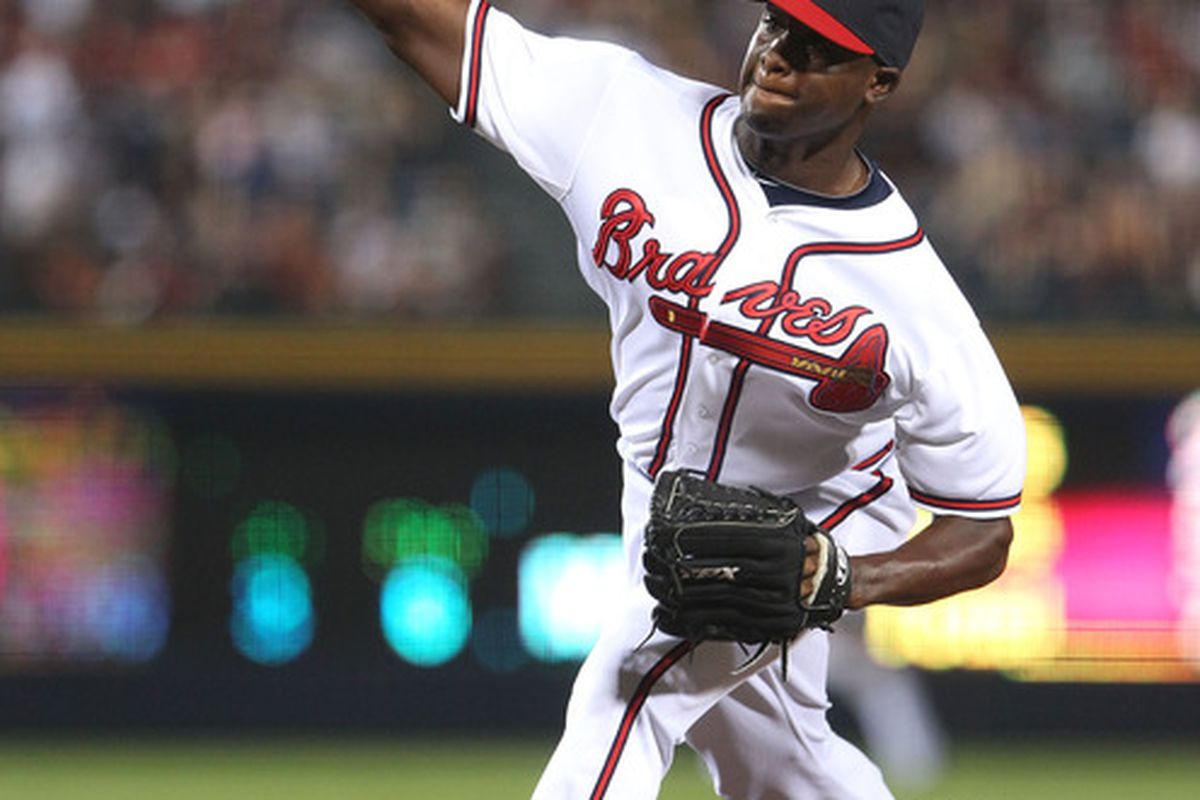 According to Keith Law, Arodys Vizcaino is the Braves' number-one prospect.
