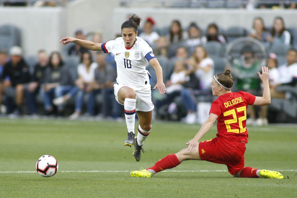 41b5d614f Carli Lloyd named to U.S. World Cup squad - Once A Metro