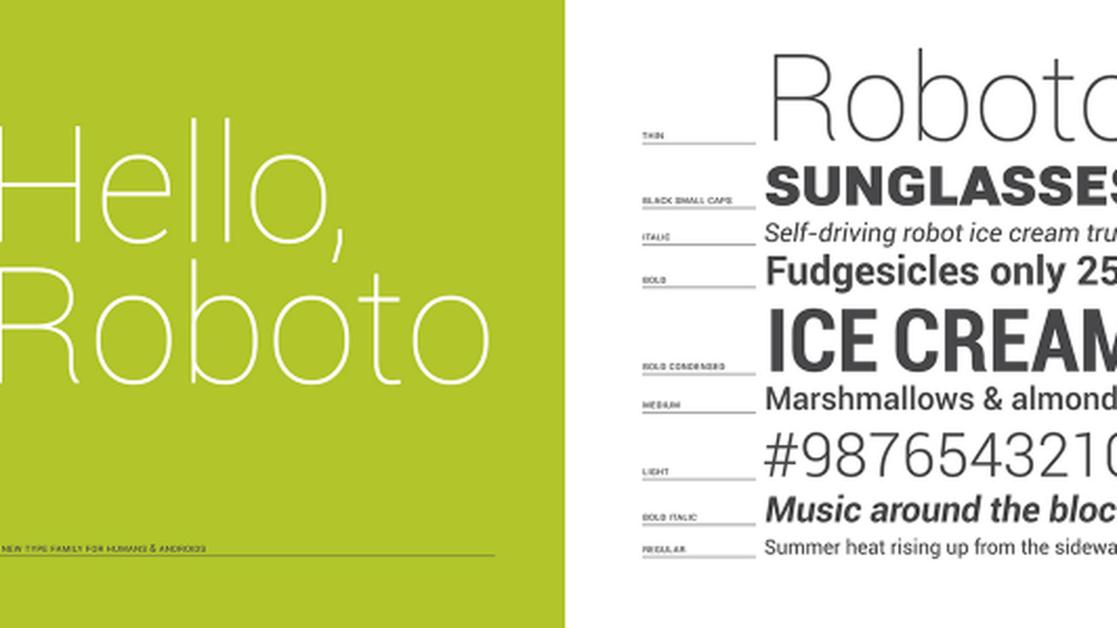Dissecting Roboto, Android 4 0's font - The Verge