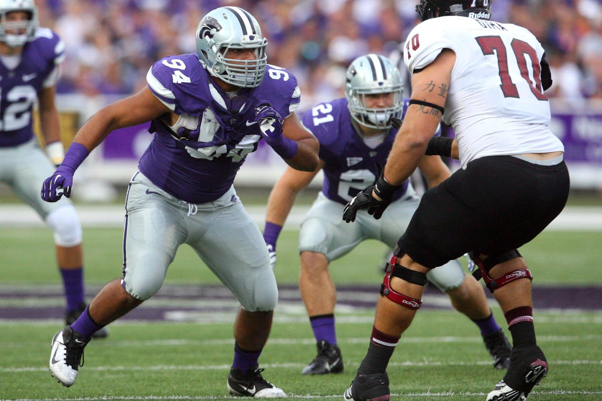 The graduation of Alauna Finau leaves a hole in K-State's defensive line rotation. Don't expect C.J. Reese to fill it this year, but he eventually could be heir to Finau's number.