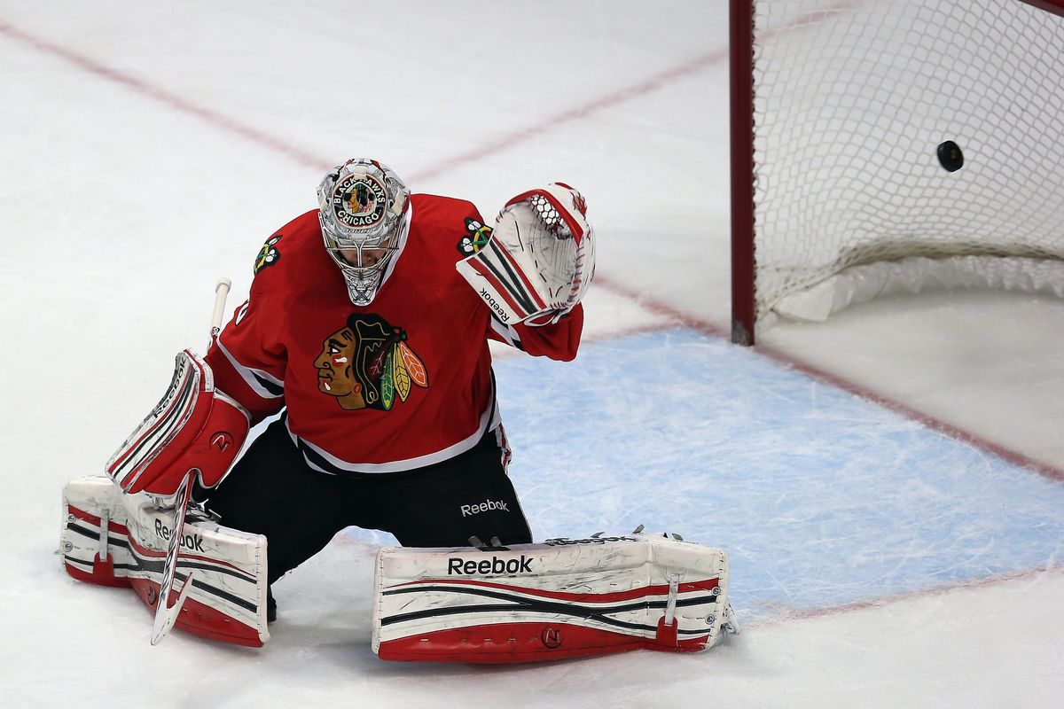 The pod is free; watching goals against the Hawks: Priceless