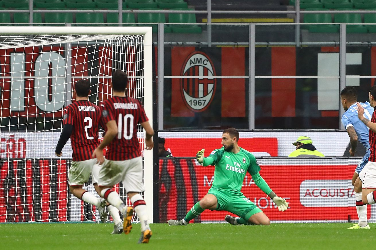 Tactical Review of Milan's Lacklustre Performance In Their 2-1 Loss To Lazio