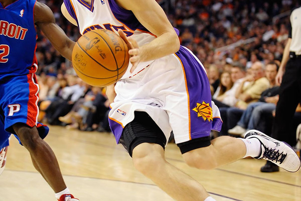 """Goran Dragic responded positively when asked how he felt about his new nickname, """"Frosty"""". (Photo by Max Simbron)"""