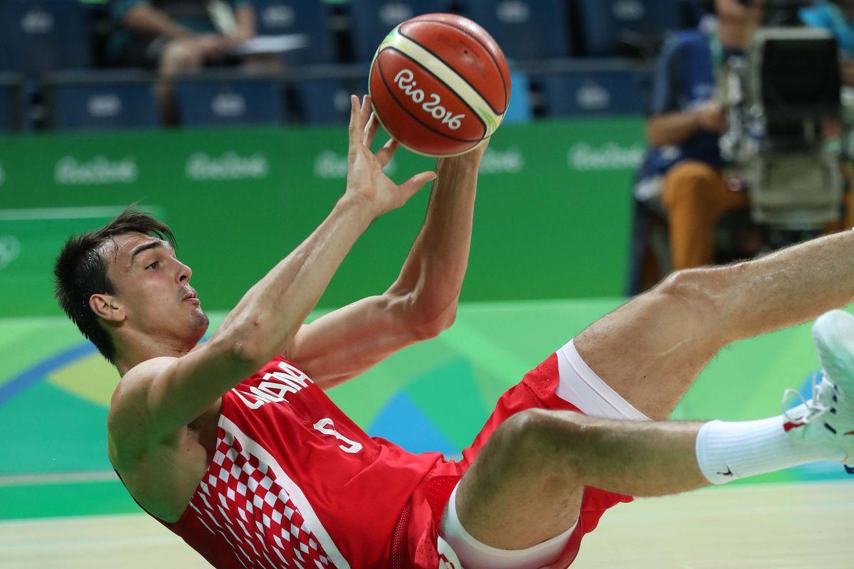 Olympics: Basketball-Men's Team-Preliminary Round BRA vs CRO