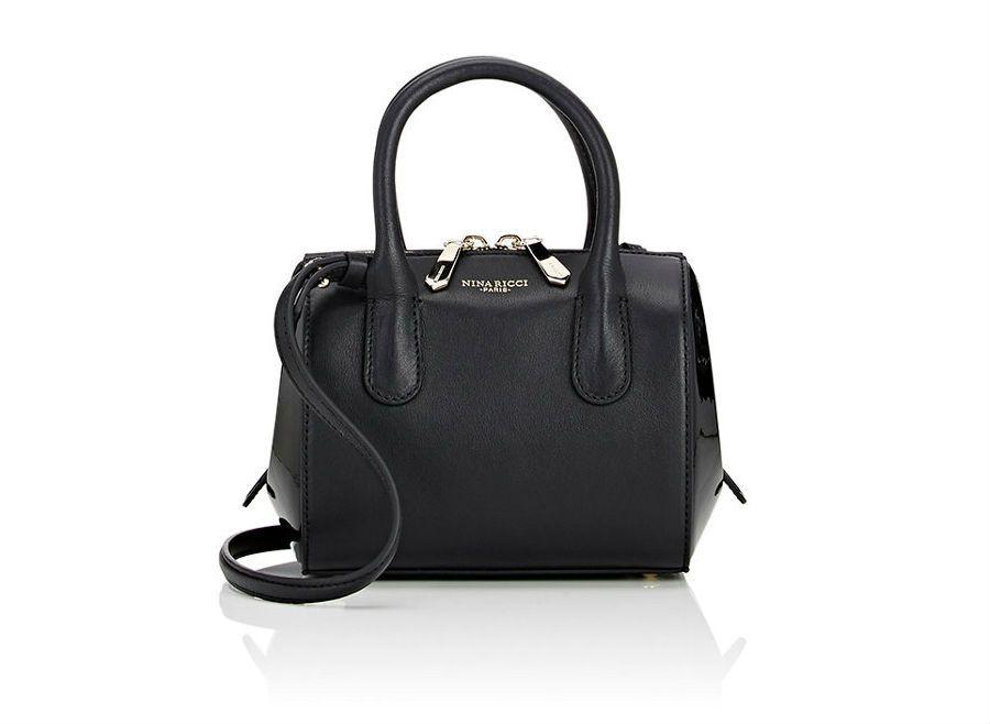 Nina Ricci Youkali Mini-Satchel in black