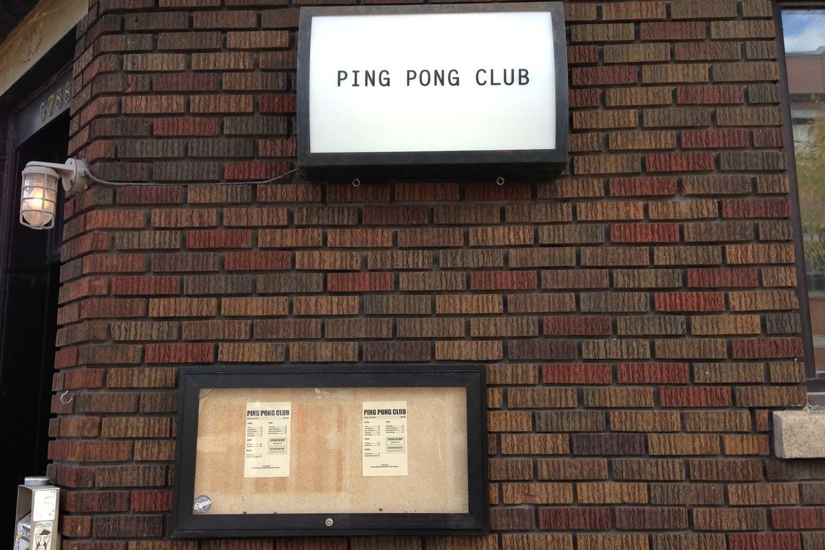 The new Ping Pong Club in Mile End Montreal