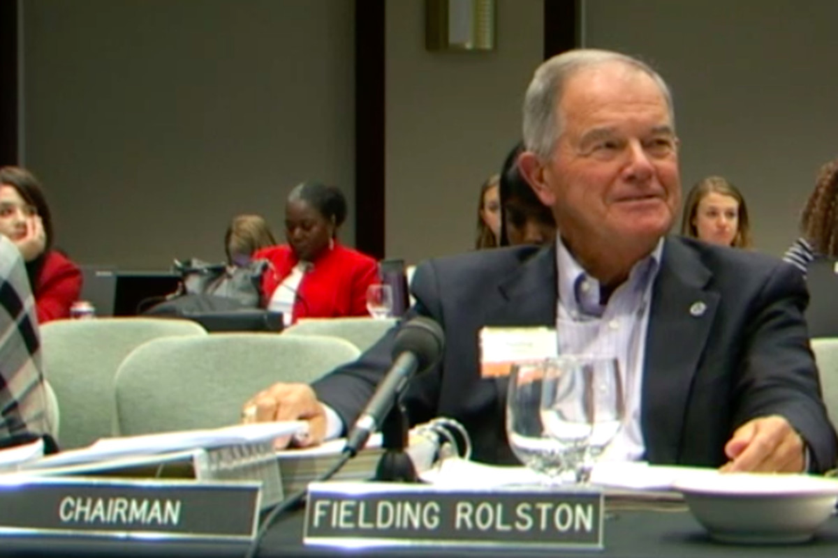 B. Fielding Rolston, chairman of Tennessee State Board of Education