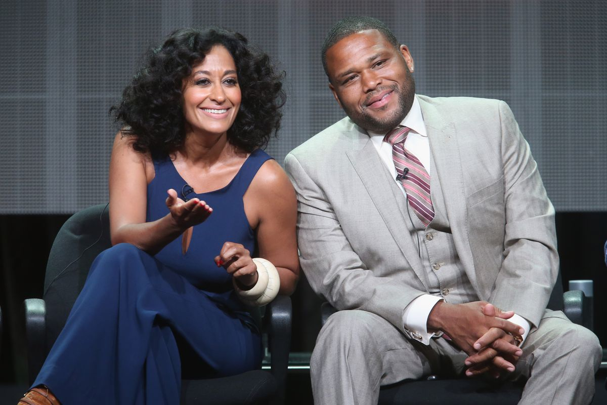 """""""Black-ish"""" actors Tracee Ellis Ross and Anthony Anderson"""