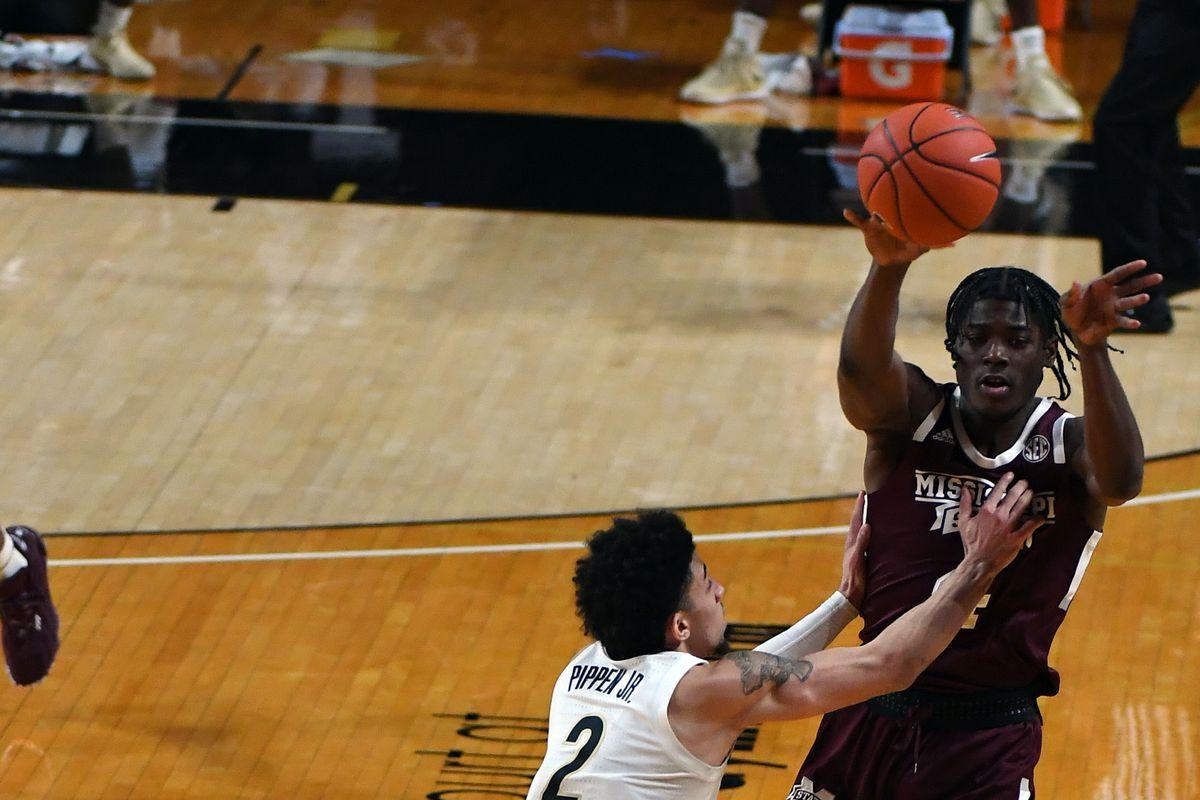 NCAA Basketball: Mississippi State at Vanderbilt