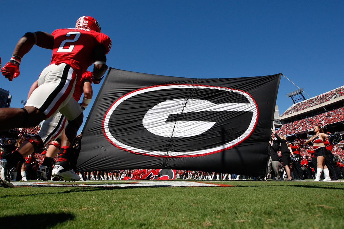ATHENS, GA - OCTOBER 01:  Brandon Boykin #2 of the Georgia Bulldogs enters the field to face the Mississippi State Bulldogs at Sanford Stadium on October 1, 2011 in Athens, Georgia.  (Photo by Kevin C. Cox/Getty Images)