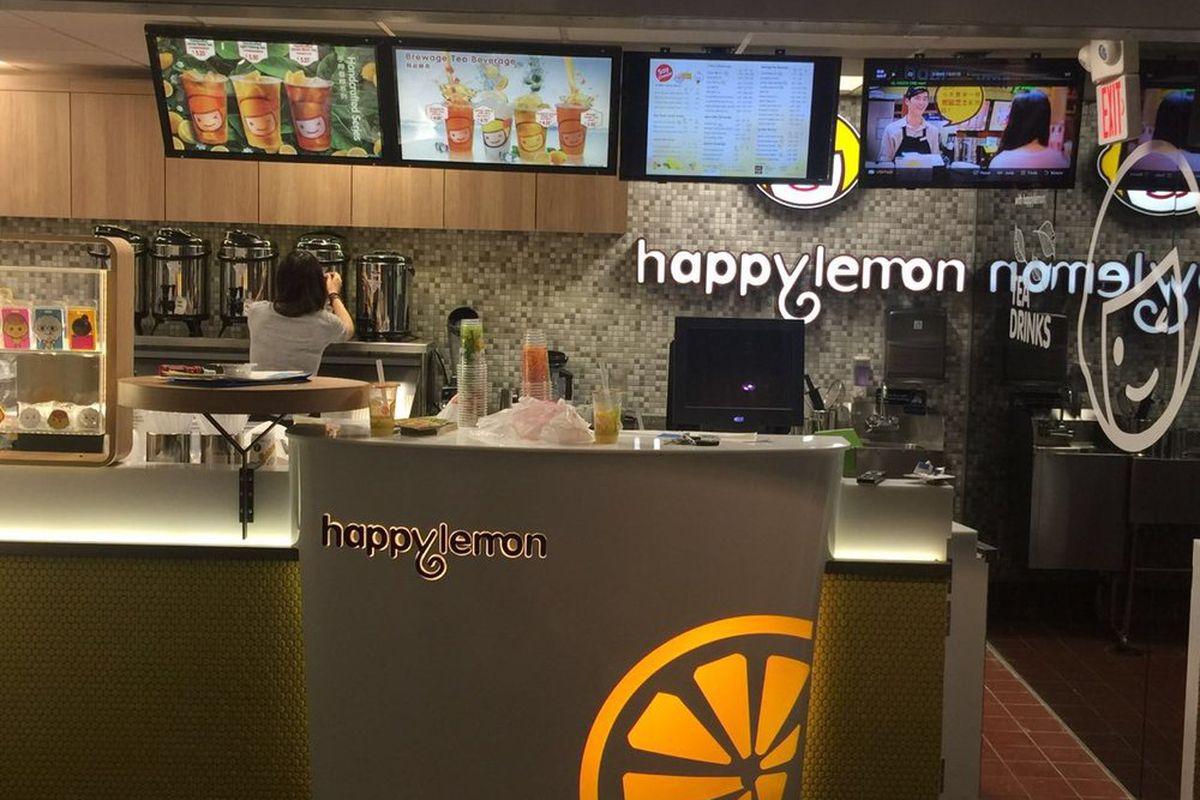 Happy Lemon in Downtown Crossing