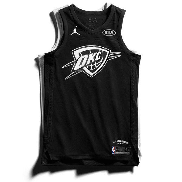 sale retailer f43da 62ab4 Jordan Brand released the 2018 NBA All-Star jerseys ...