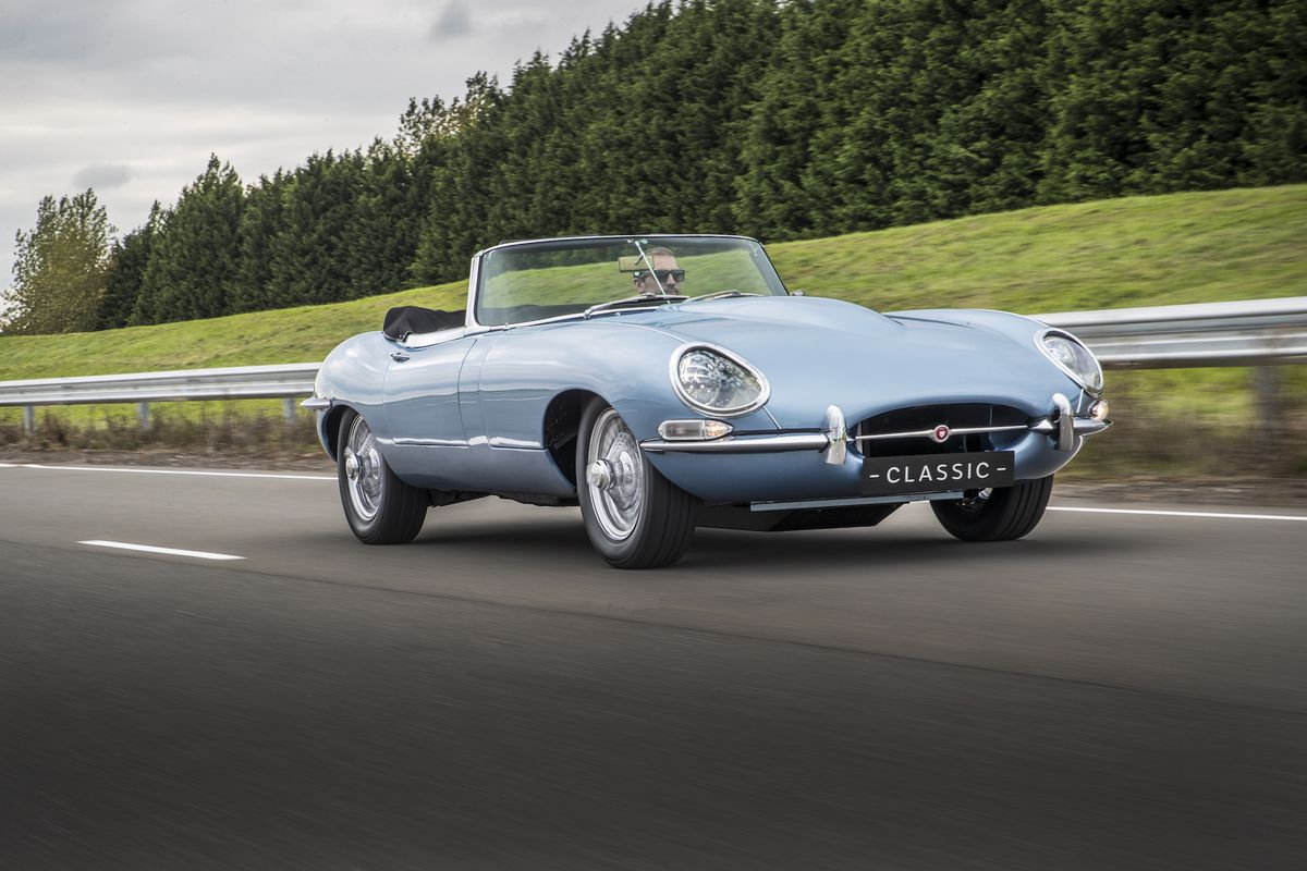 Jaguar\'s E-type Zero is the most beautiful electric car yet - The Verge