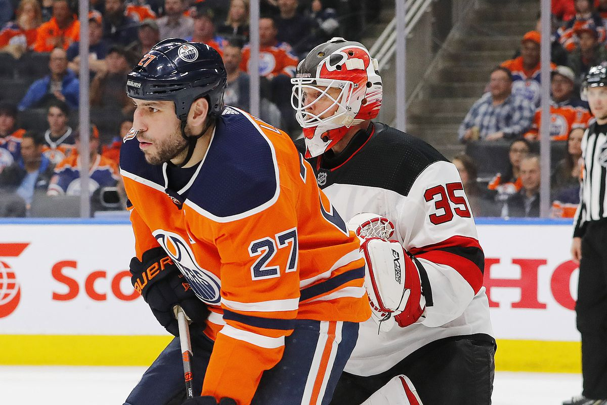 NHL: New Jersey Devils at Edmonton Oilers