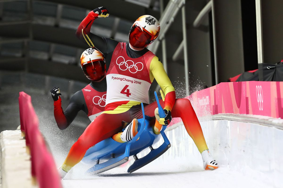 Doubles Luge Is Absolutely the Dumbest-Looking Sport - The