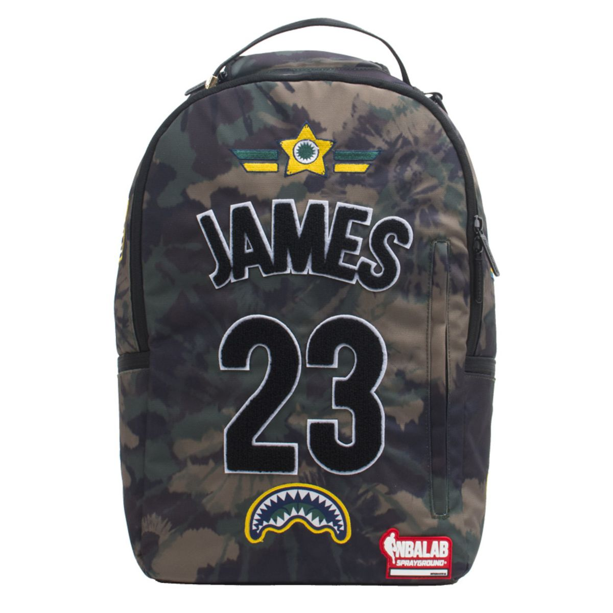 77d63b4b2111 LeBron James Sprayground Tie Dye Patches Backpack for  56.25 (usually  75)  NBA Store