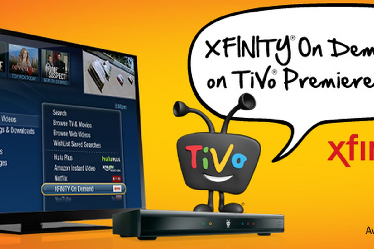 Comcast Xfinity On Demand rolling out to TiVo Premiere