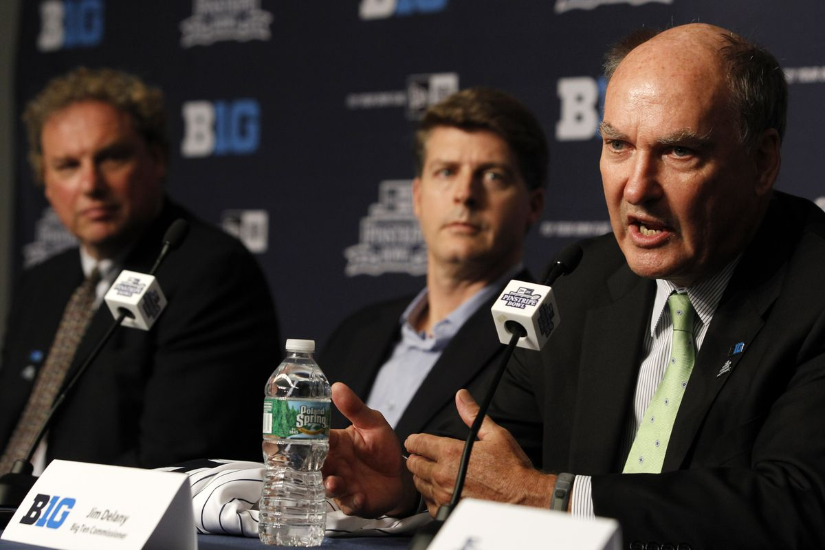 Jim Delany: Friday games not imminent, against pay for play