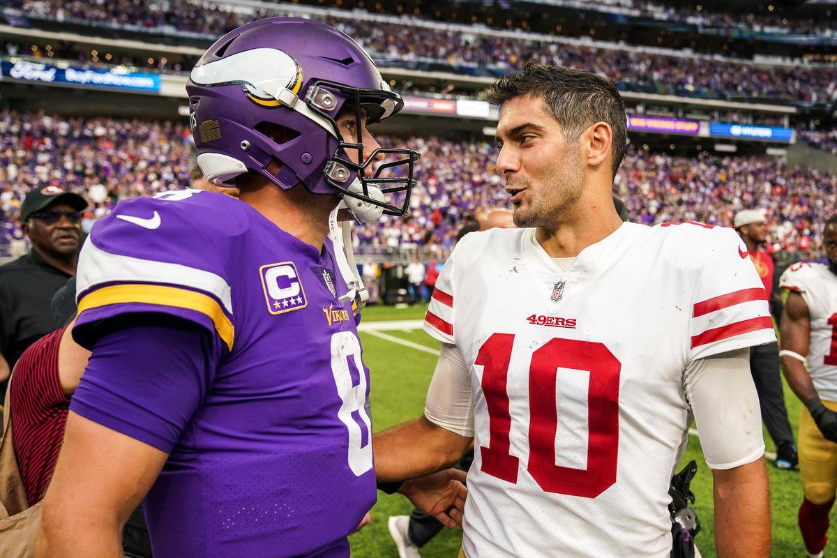 ce482fc9 Minnesota Vikings vs. San Francisco 49ers: Five Game-Changing Plays ...