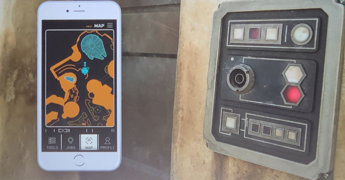 Disney reveals how its Parks app will make Star Wars Land even more immersive