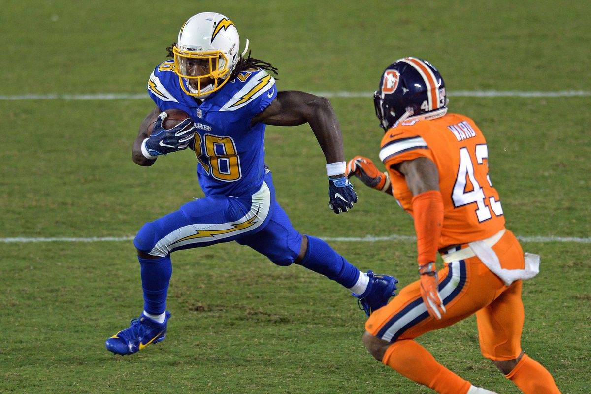 Update Melvin Gordon Still Stinks Bolts From The Blue
