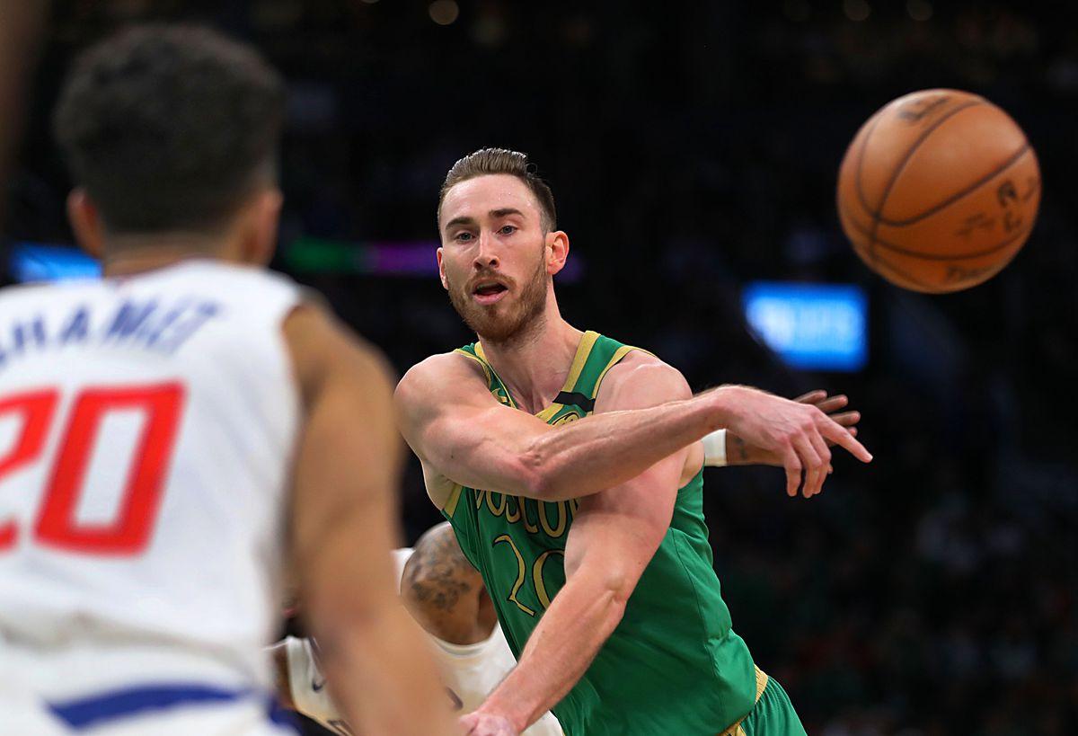 Los Angeles Clippers Vs. Boston Celtics At TD Garden