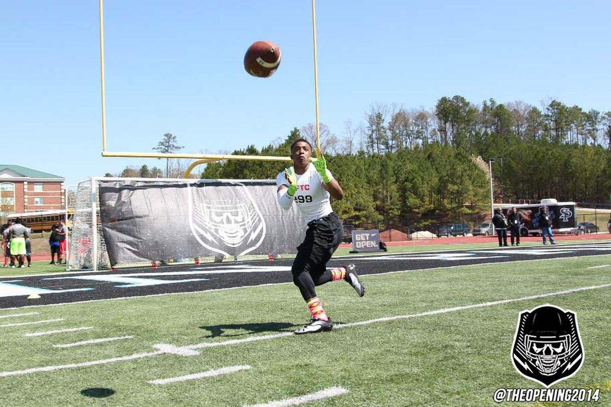 Smitherman competes at an NFTC event in the Birmingham area earlier this year