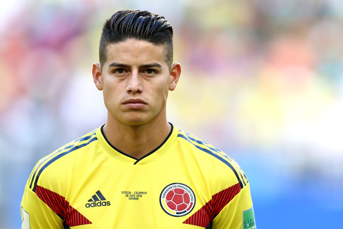 best service 2a8ba a2faf James Rodriguez wants to return to Real Madrid as early as ...