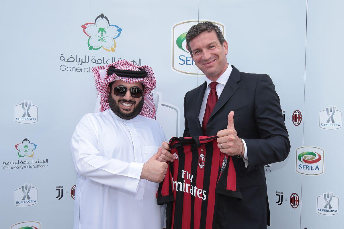 Lega Serie A Unveils Partnership With Saudi Arabia As New Venue For The Italian Supercup