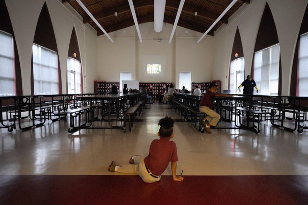 Tindley Renaissance Academy serves elementary school students.