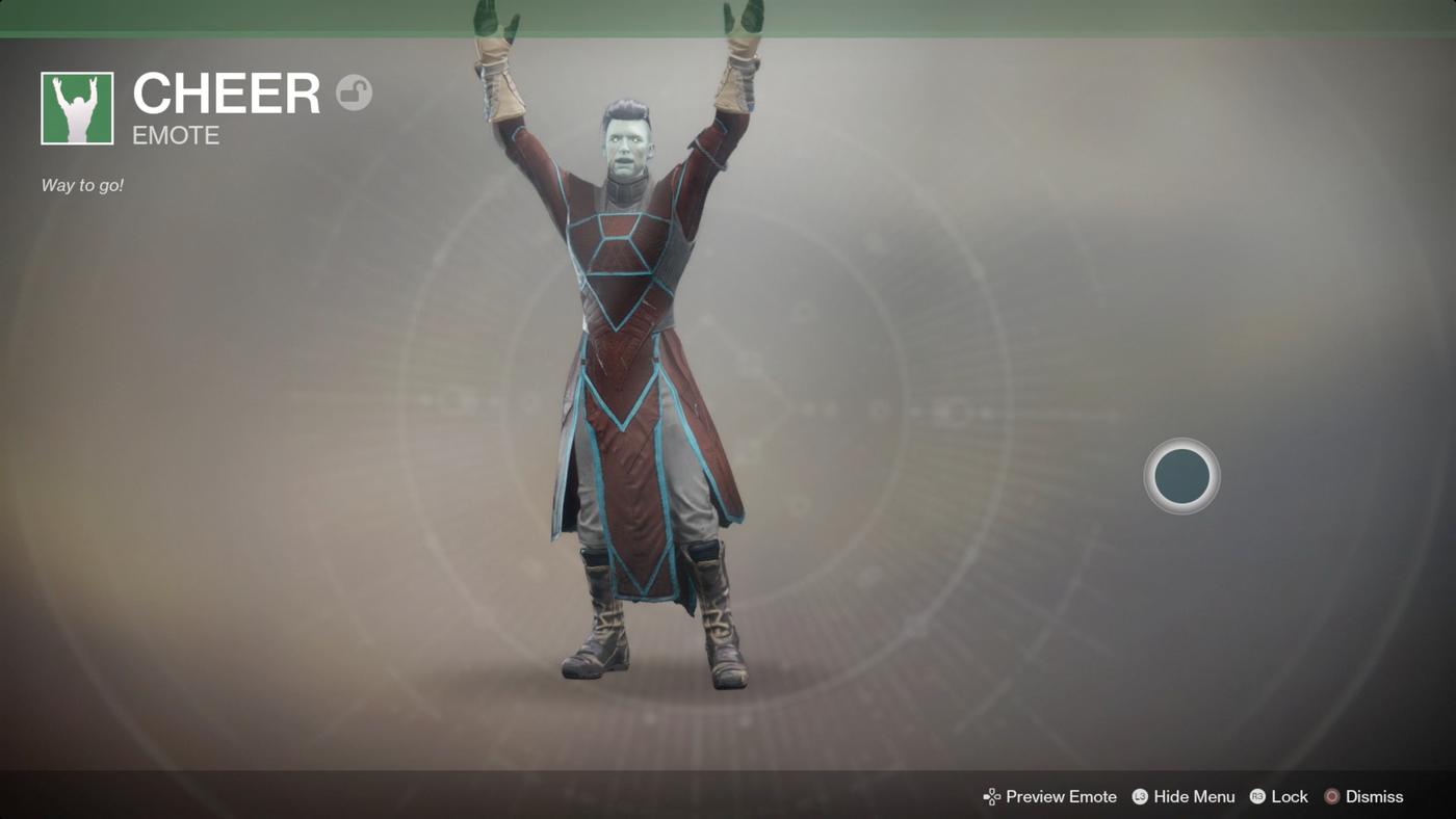 Destiny 2 guide: Emotes - Polygon