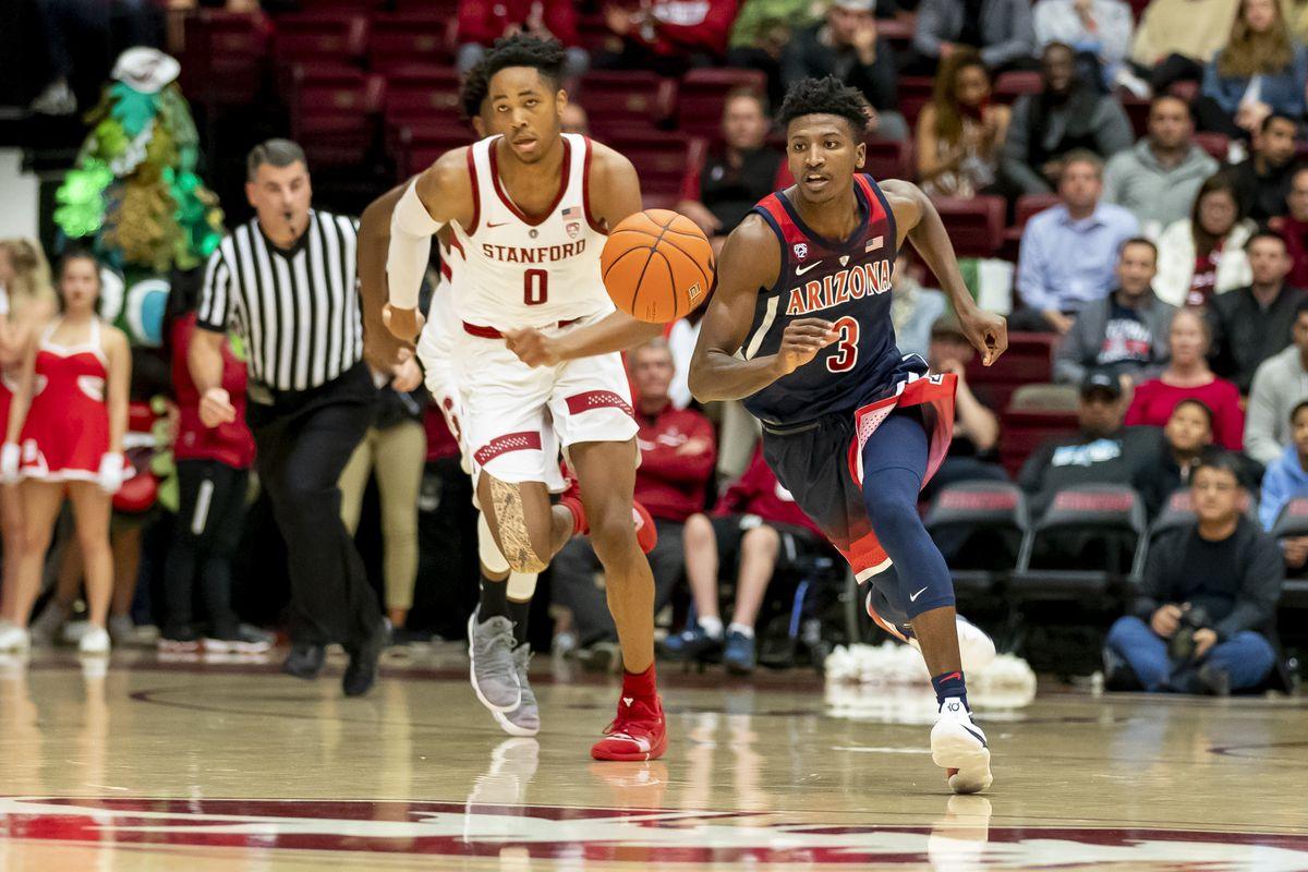 COLLEGE BASKETBALL: JAN 09 Arizona at Stanford