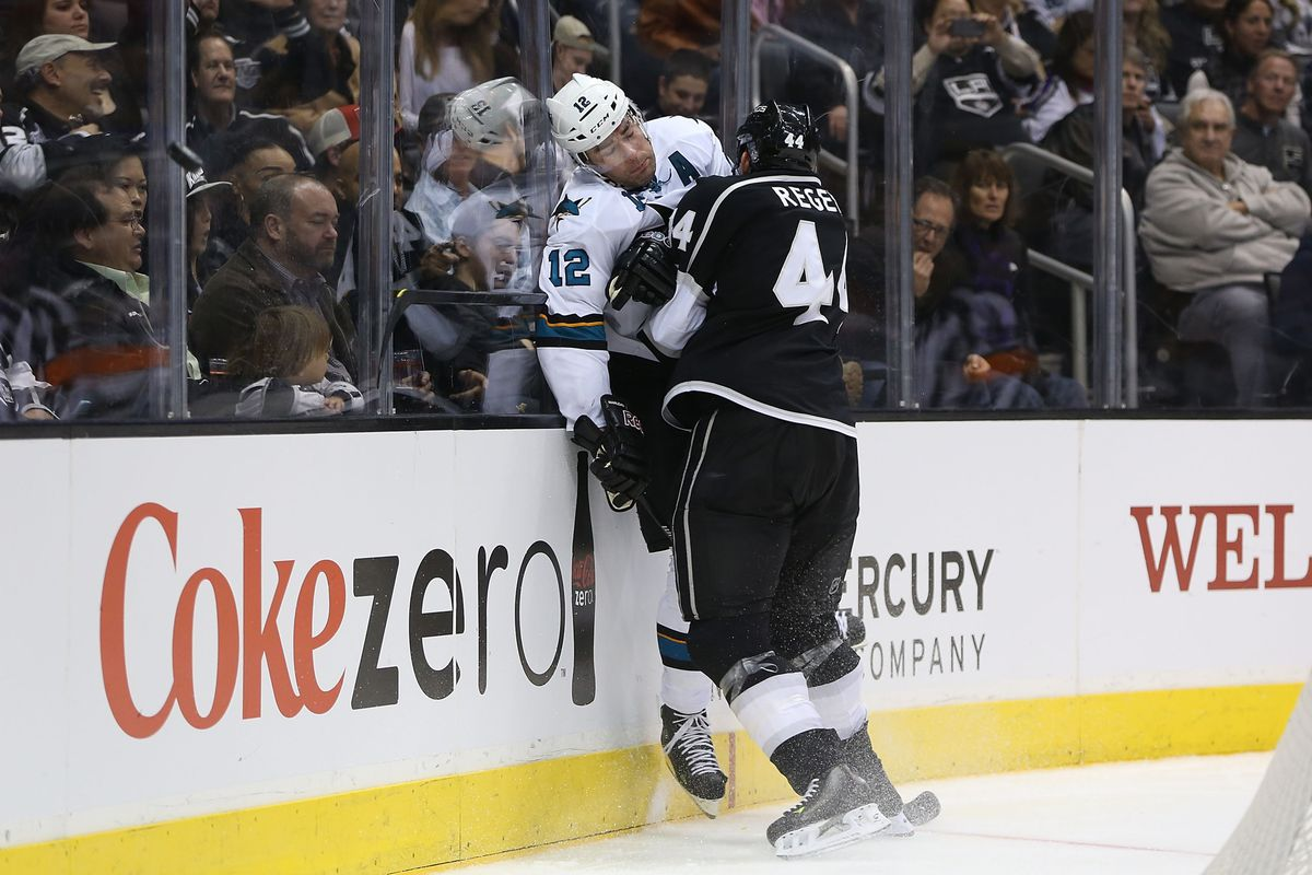 And then, Regehr outscored Marleau.