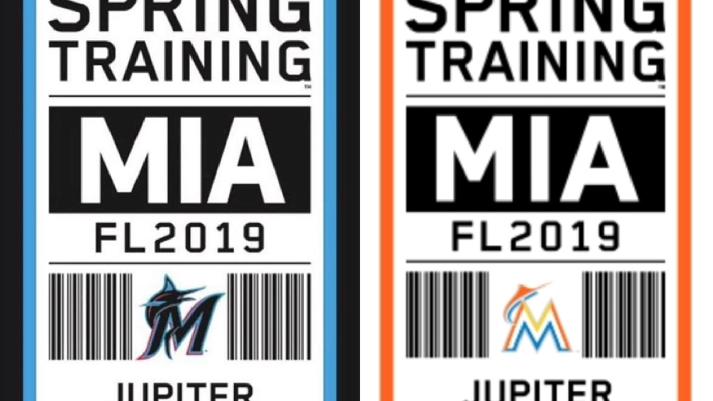 0884f45b7 At least 4 Miami Marlins logo designs being considered for 2019 rebrand -  Fish Stripes