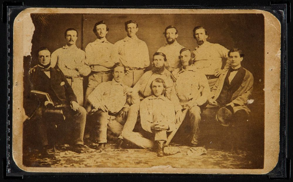 Jenner Olympic Torch 1860s Baseball Card On Auction Block In