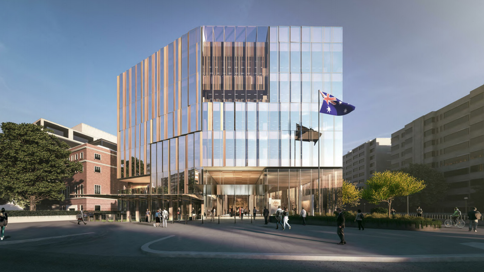 Australian Embassy S Transformation Revealed Curbed Dc