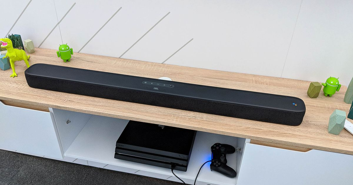 JBL's Long-delayed Android-powered Soundbar is Finally Available to Buy
