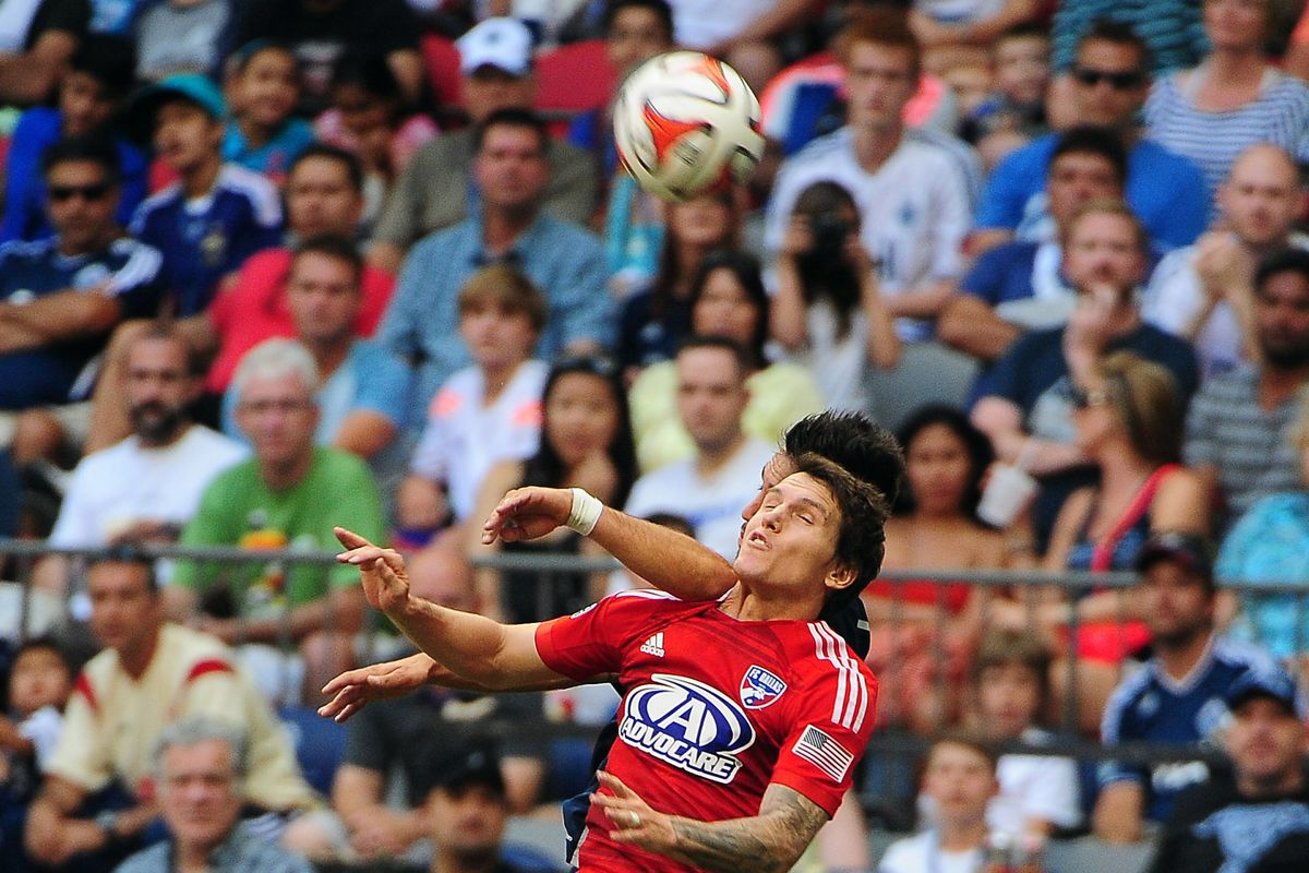 Zach's offensive efforts may have earned FCD a draw last weekend