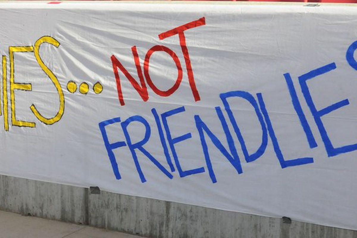 trophies not friendlies