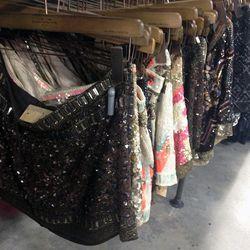 Those amazing skirts start at $75.