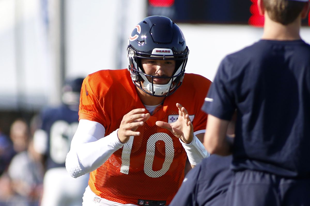 newest 18684 423da Chicago Bears Training Camp Recap (8/6): Talking Trubisky ...