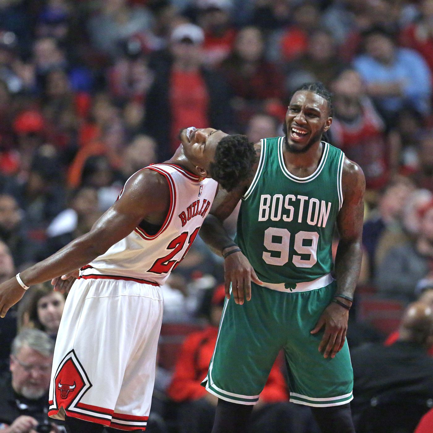 Jimmy Butler Trade To Celtics Hinges On Jae Crowder According To Report Sbnation Com