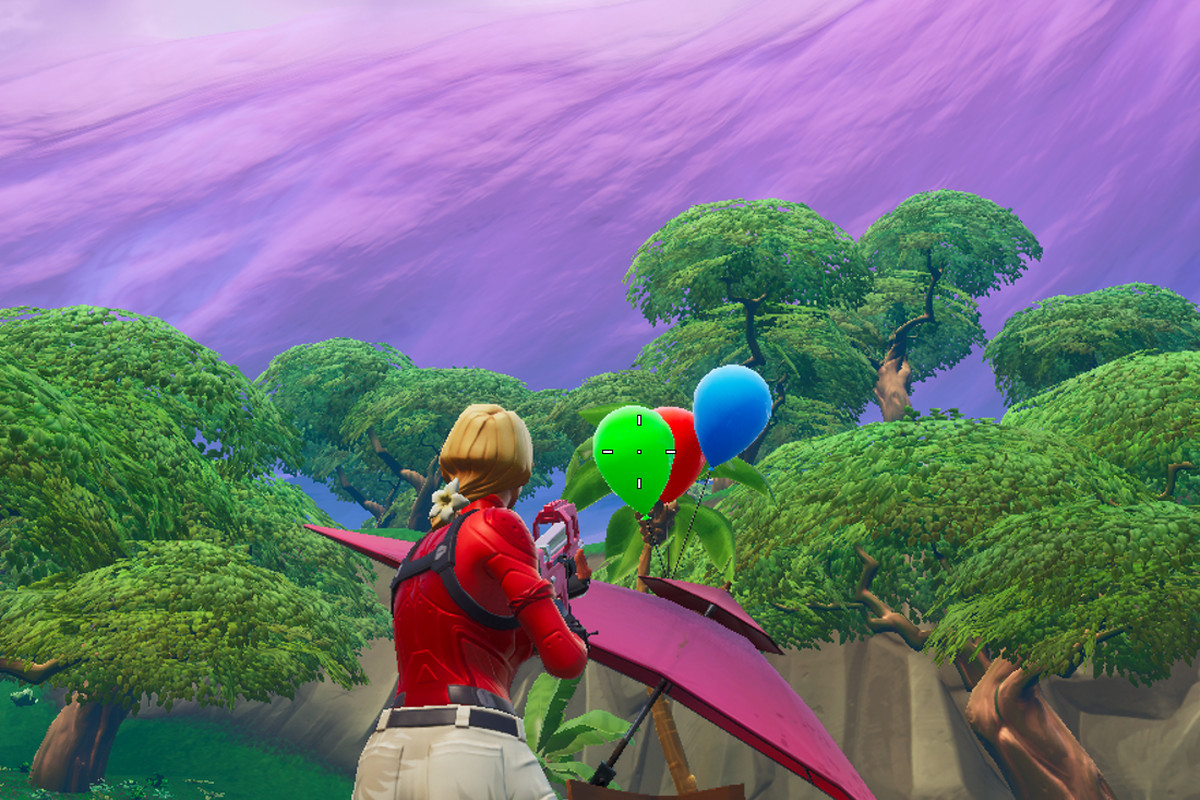 Pop Party Balloon Decorations Map Fortnite Challenge Guide