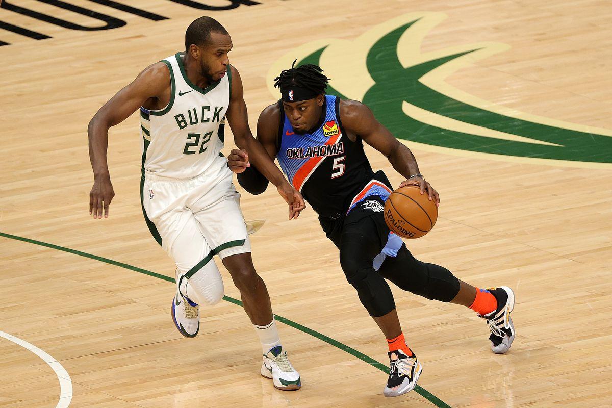 Oklahoma City Thunder v Milwaukee Bucks