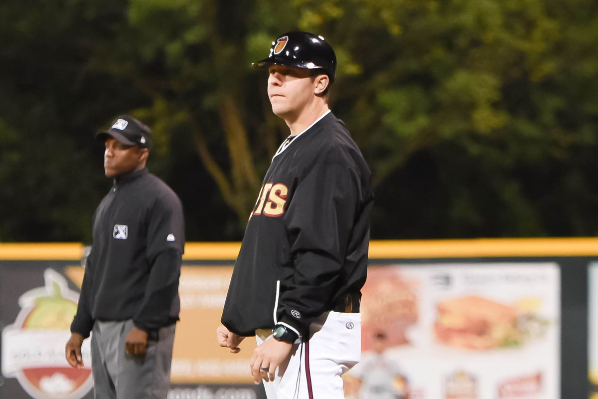 Drew Saylor was hitting coach for Class-A Modesto in the Cal League in 2015, his fourth season coaching in the Rockies' system.