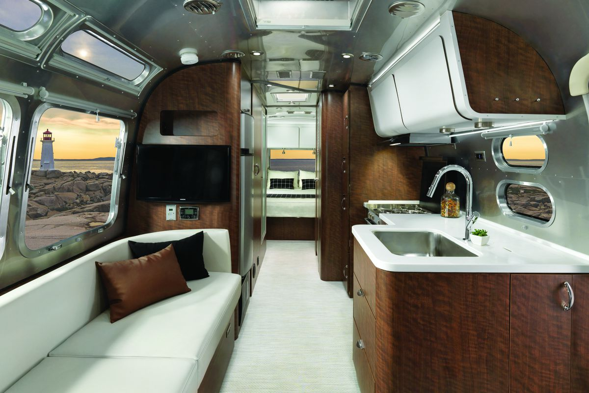 Airstream debuts new 'European inspired' travel trailer - Curbed