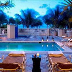 """<span class=""""credit"""">Image Via Acqualina Resort</span><p><b>Acqualina Spa by Espa:</b> The Acqualina's spa bases its holistic, meditative and restorative treatments on Ayurvedic principals, which stem from Hinduism. Dive head first into the spa experience"""