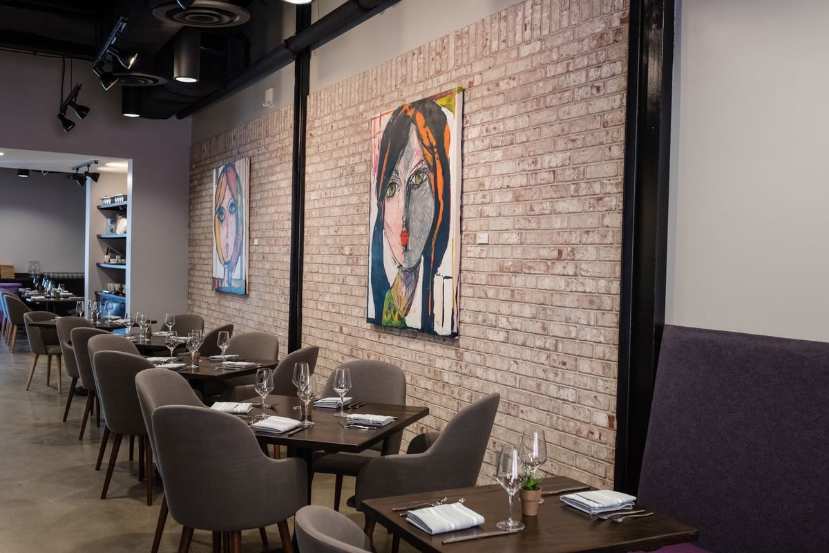 The dining room at Blend 111