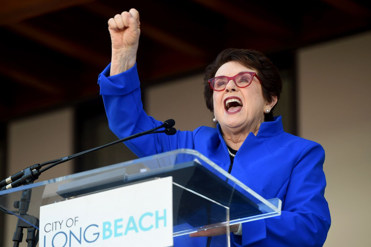 Long Beach opens the Billie Jean King Main Library, a 92,500 square foot building for the community