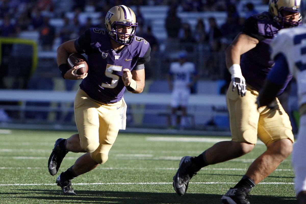 Could UW's top TD scorer in 2015 be a QB?